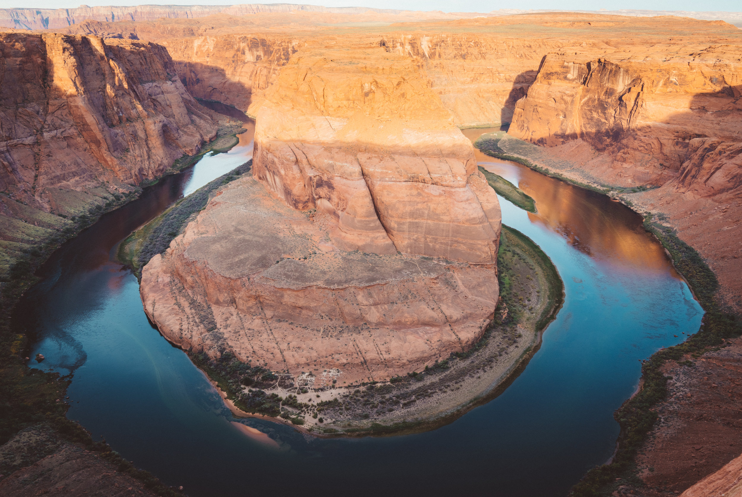 Horseshoe Bend. I had not the lens nor the proper lighting to capture this unique place.