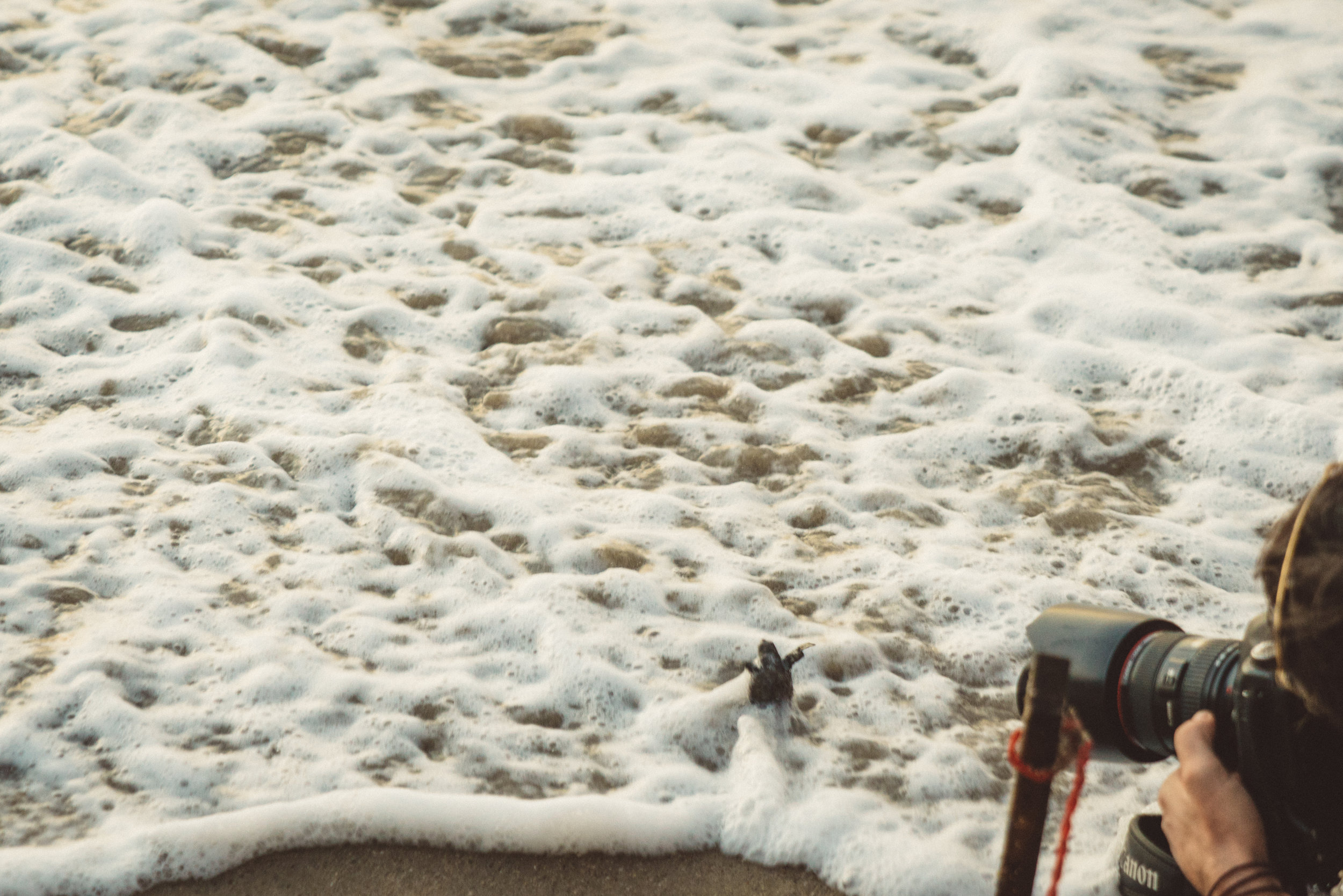 You've got to feel bad for these guys getting just rocked by the unrelenting waves.