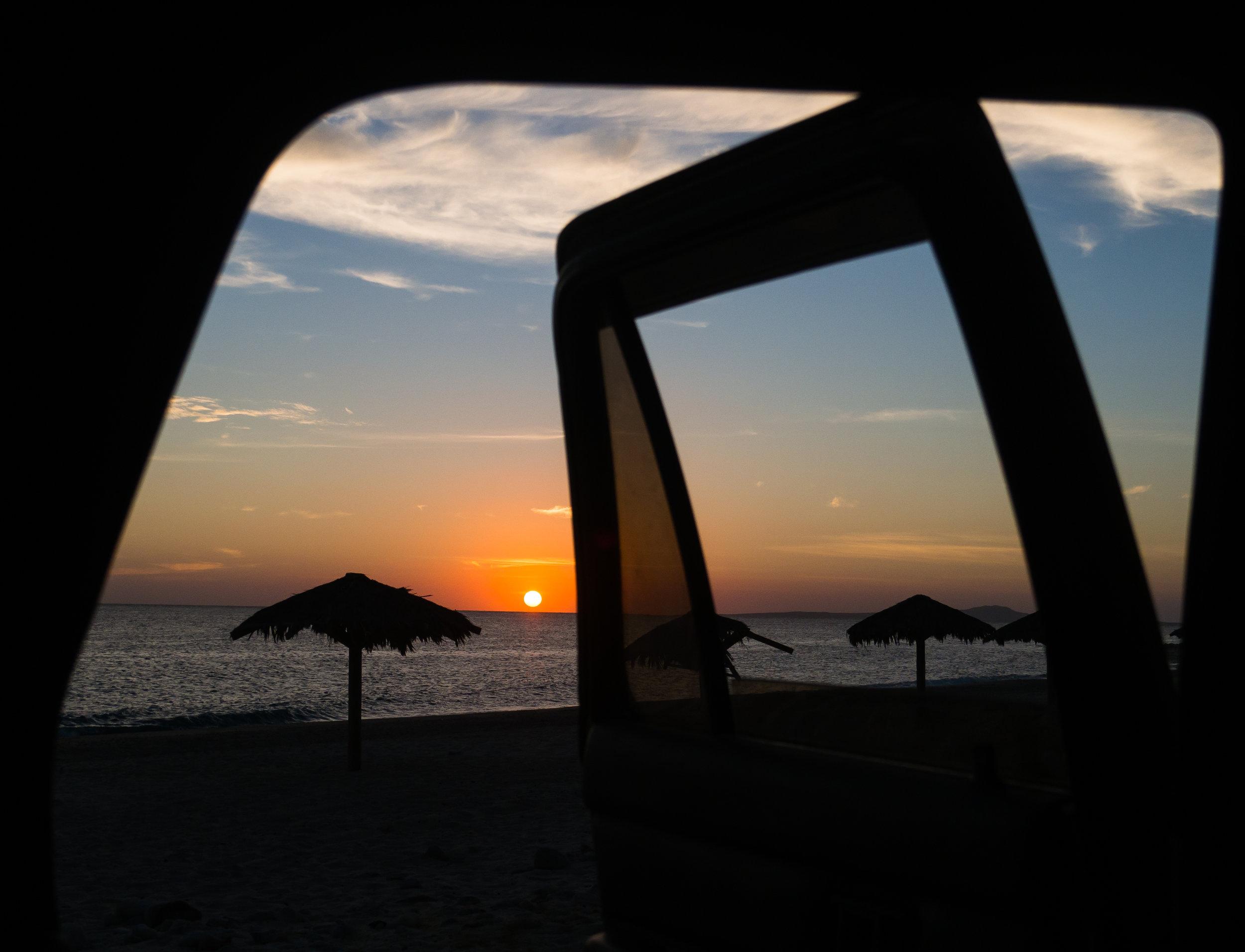 Bonus Photo: Sunrise at La Ventana. Photo Credit:  Danielle Seeliger .
