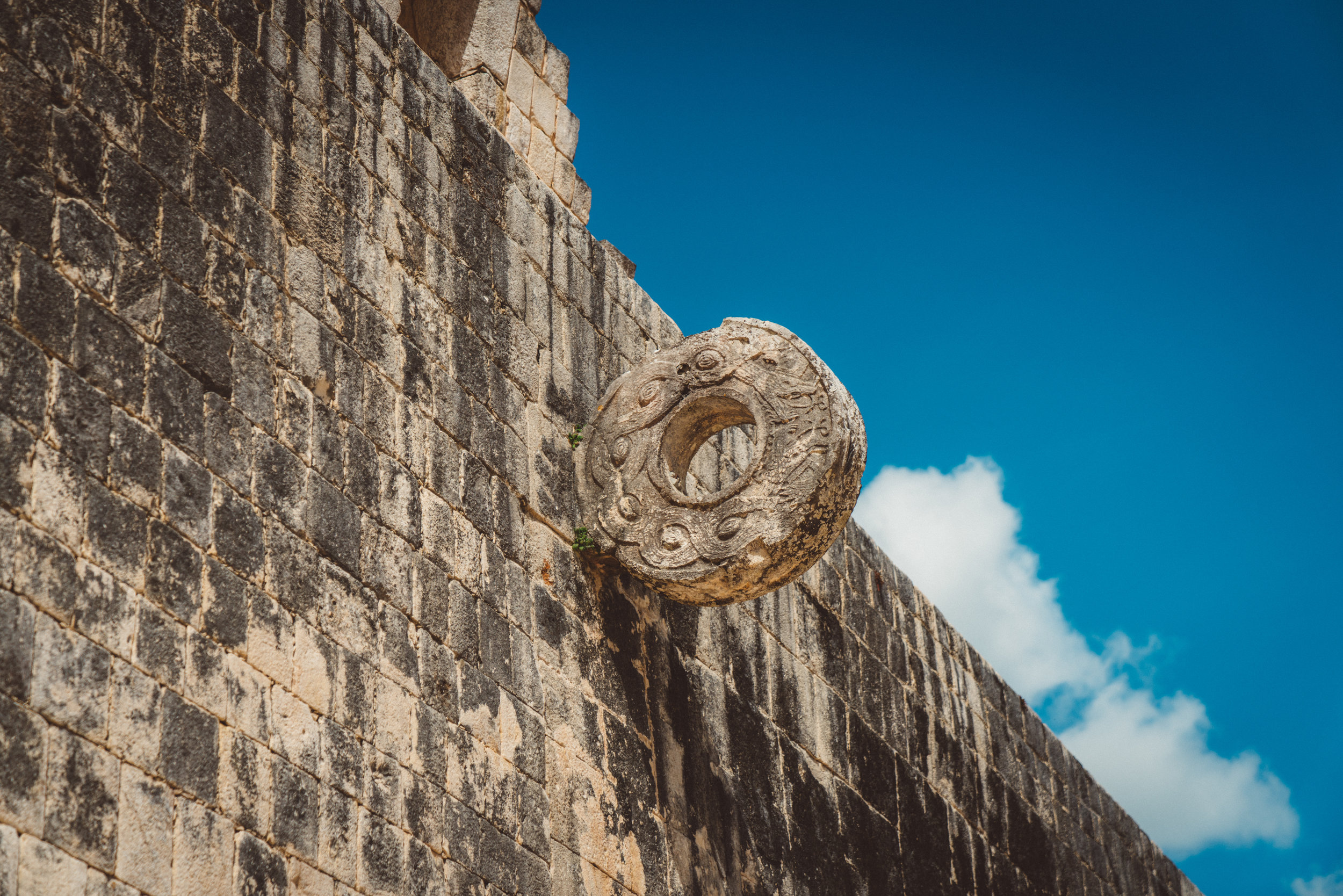 Ancient Basketball 'hoops'.