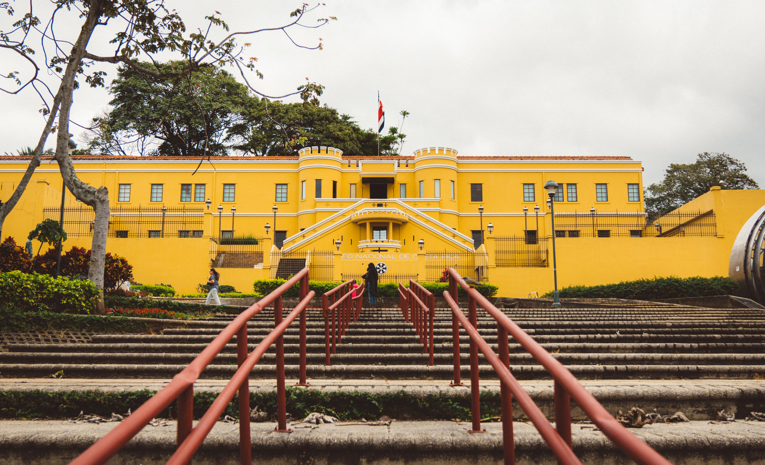 The National Museum of Costa Rica, which we didn't visit.