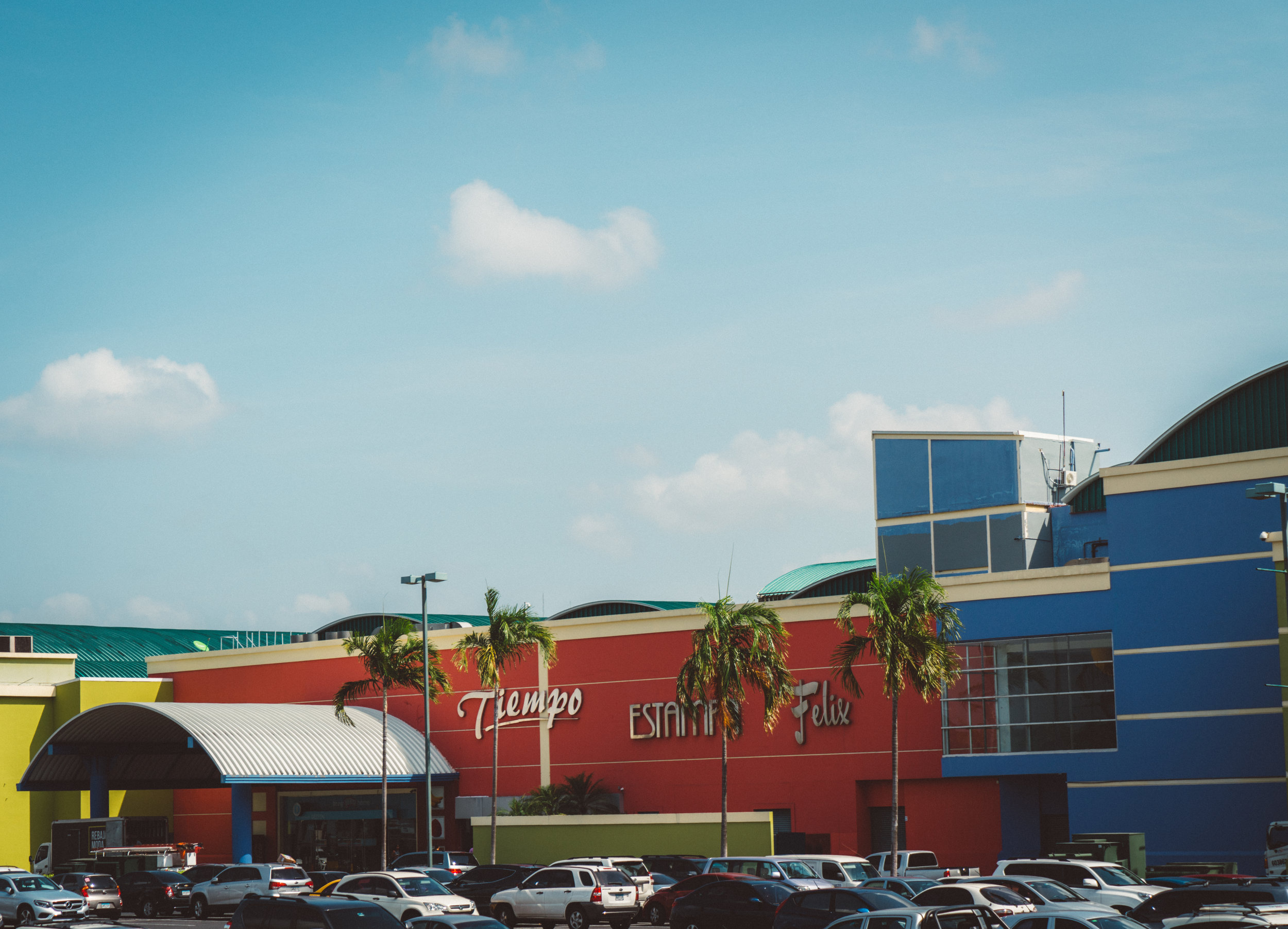 This is Albrook Mall, the biggest mall in the Americas, and largest mall outside of Asia. I saw more malls in Panama than I think I've ever seen; they love their malls. We didn't go in to this mall but drove by on our bus tour. The next bunch of photos were taken along the bus tour.