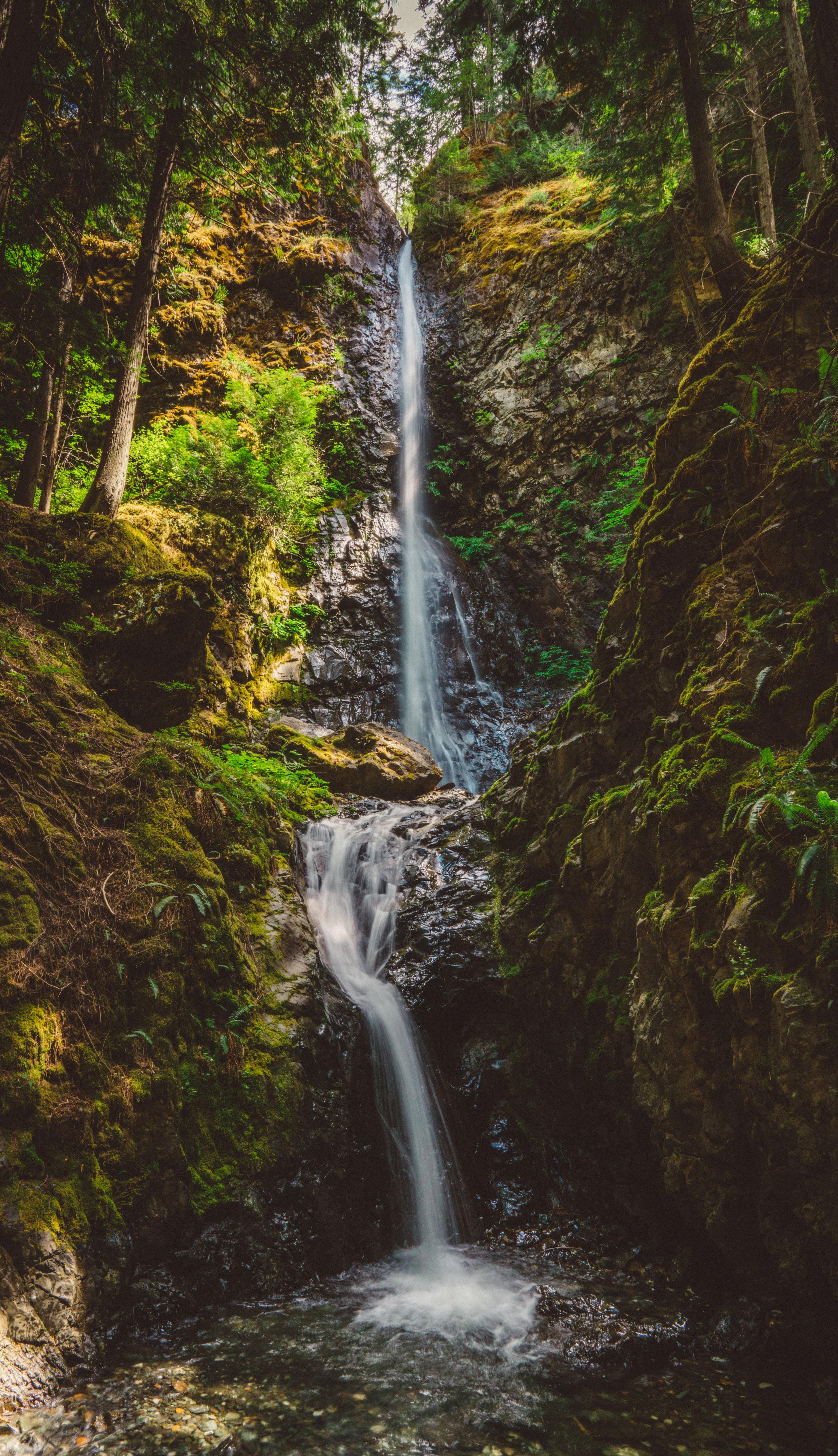 Lupin Falls.