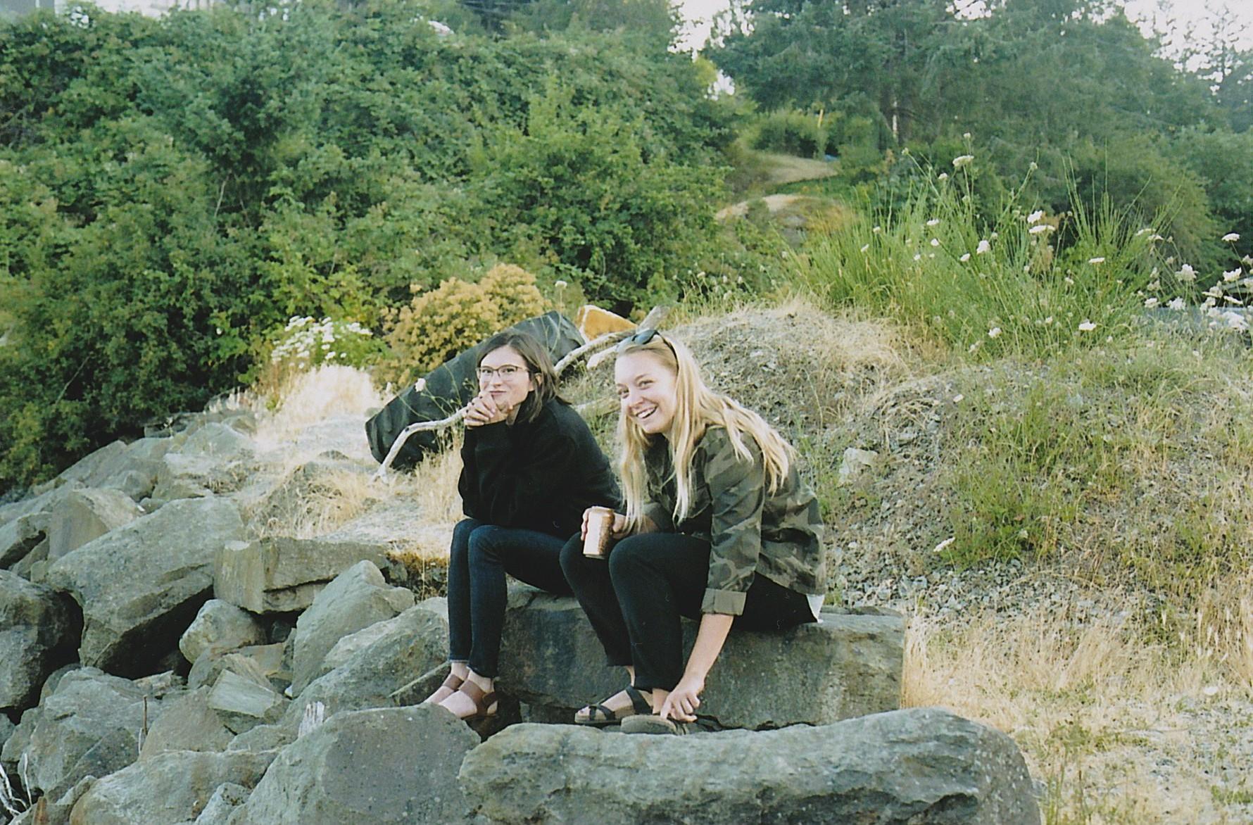 Lindsay and Danielle.