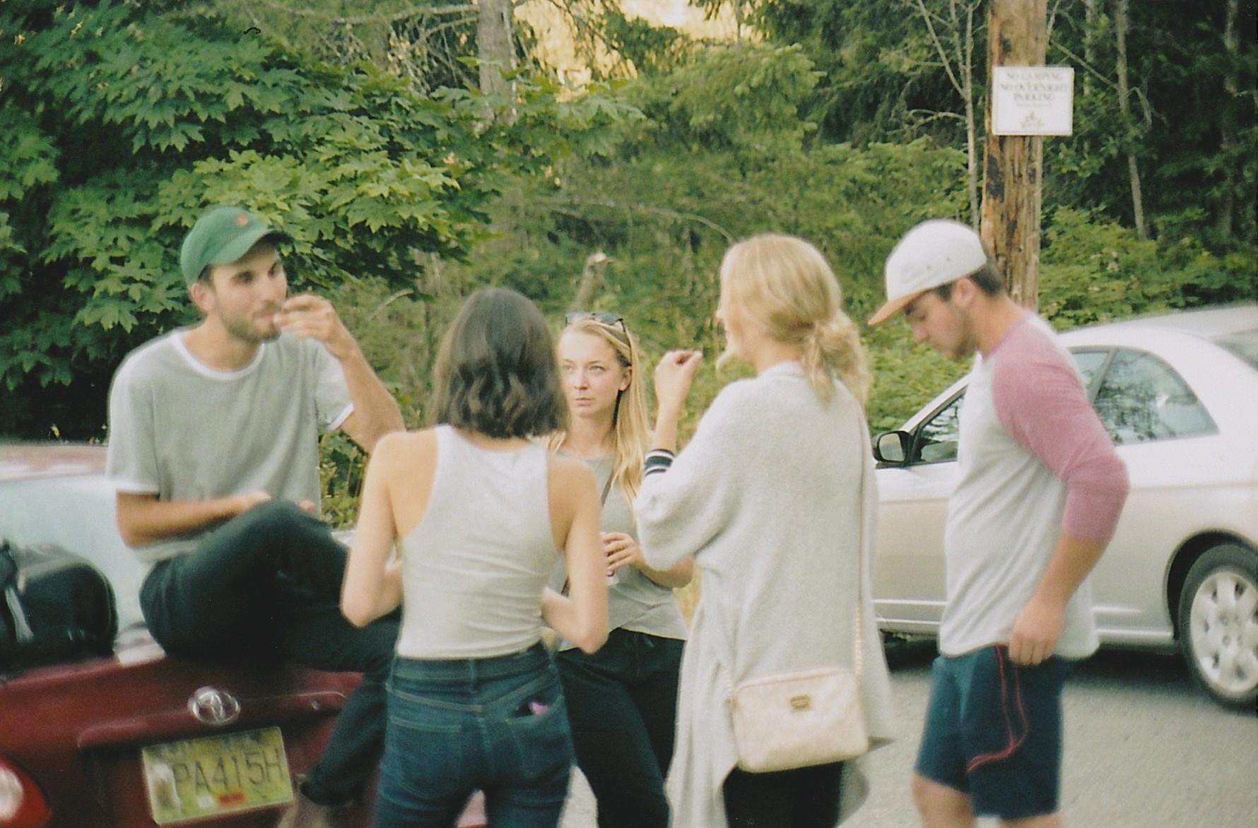 Sam, Lindsay, Danielle, Taylor, Jack.