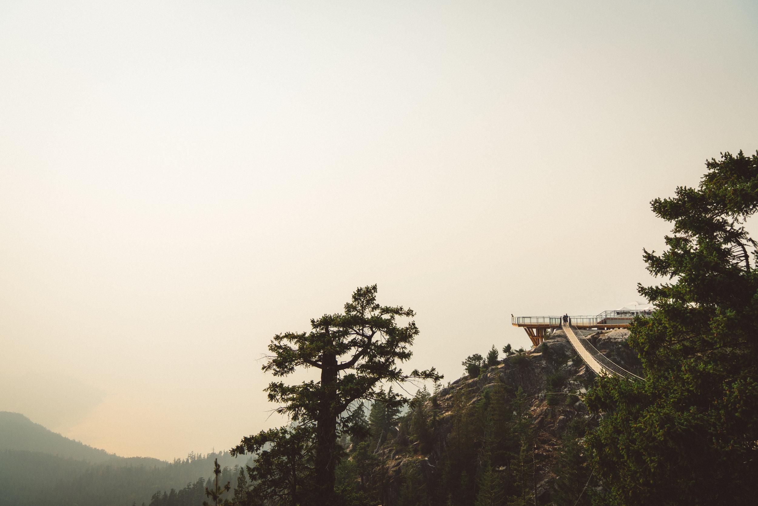 The suspension bridge the Gondala loves to promote.