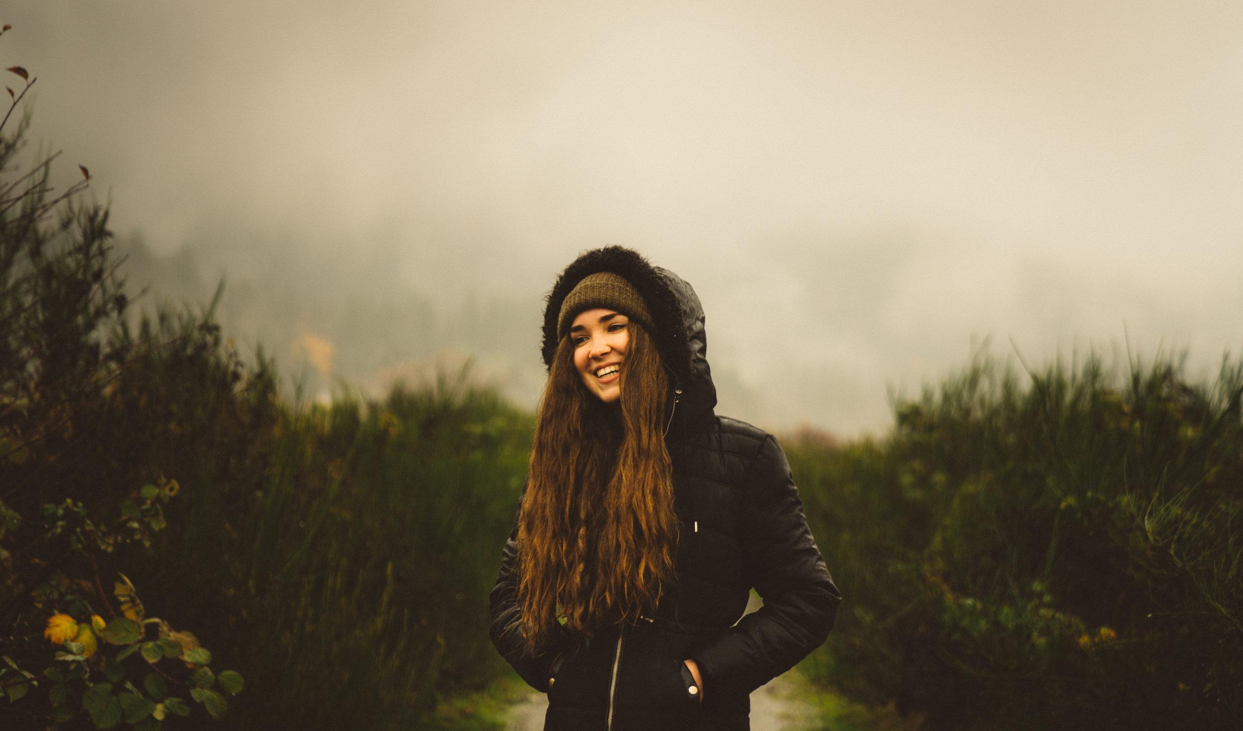 Nov. 21, 2017: Marijke in Cowichan Bay.