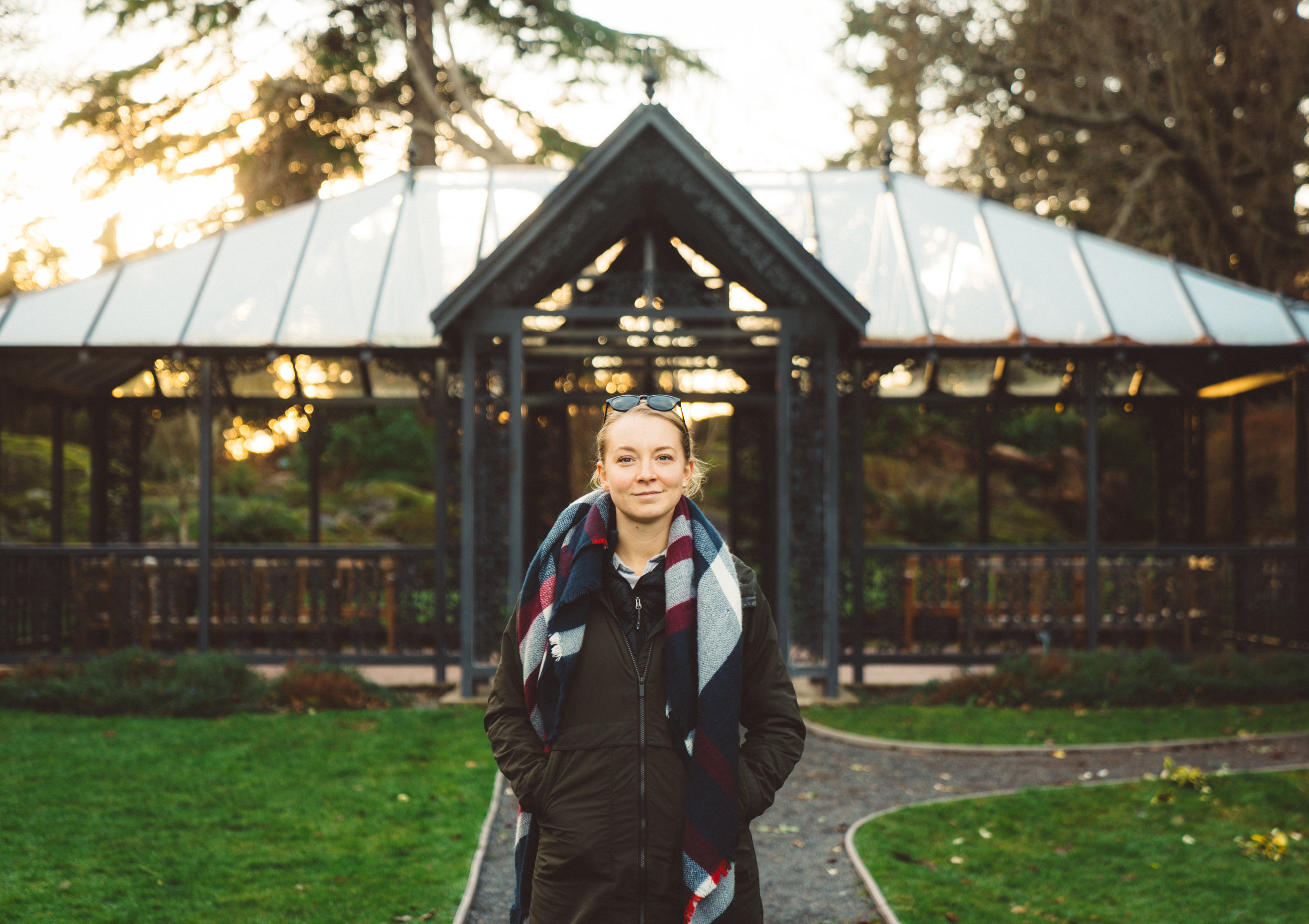 Jan. 14, 2018: Danielle at Government House.