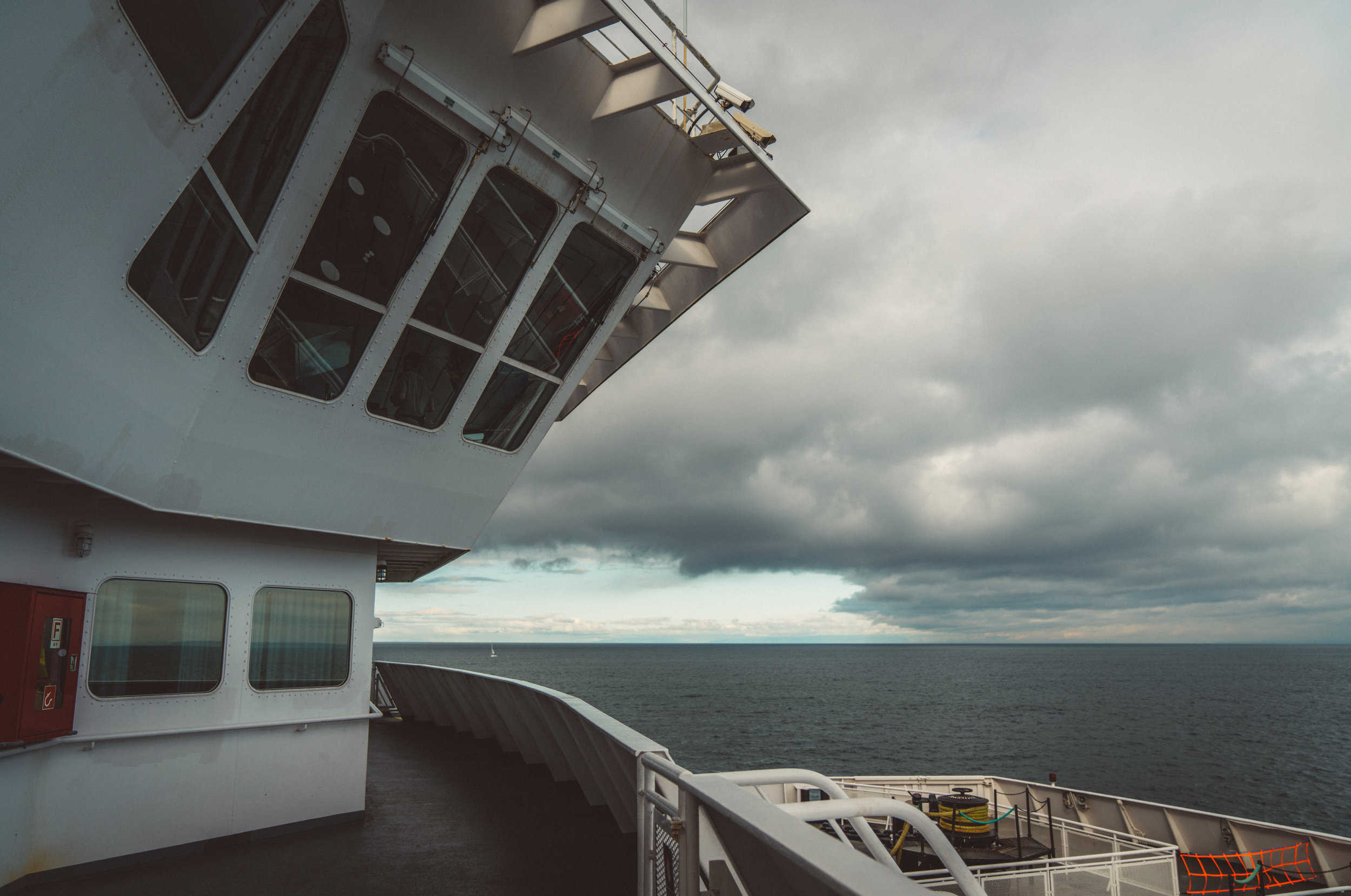 Was a bit of an bleak overcast day when we caught the BC Ferry over to Vancouver.