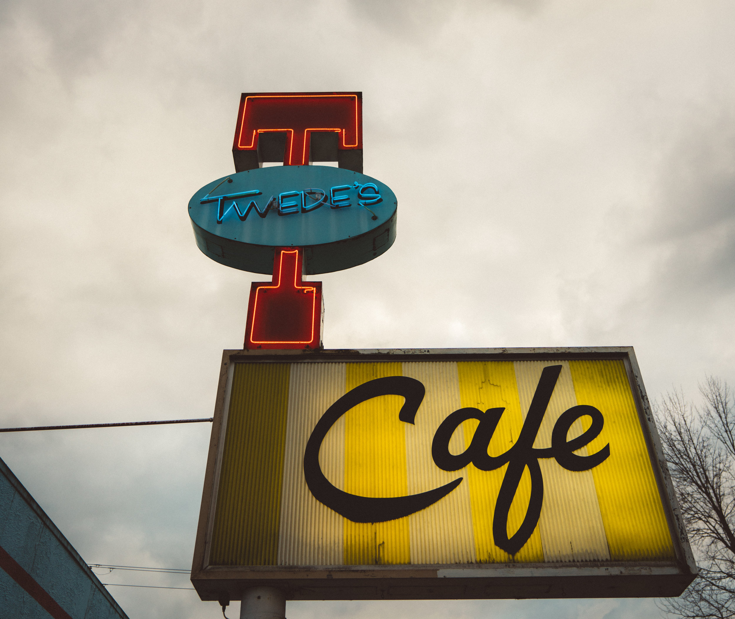 The iconic Twede's Cafe in North Bend, WA.