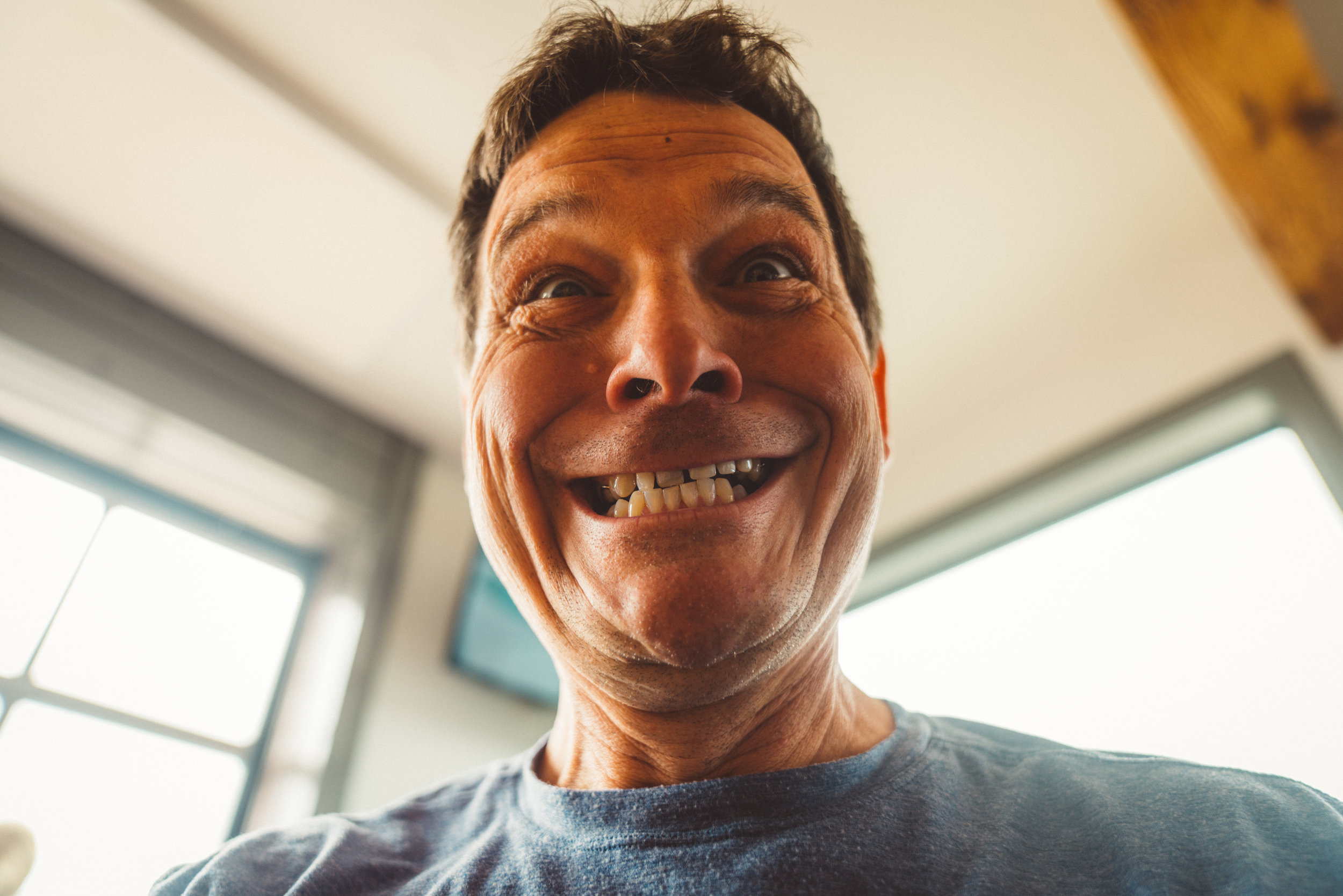 Dirk, my girlfriend's dad, took my camera and shot this so now it's getting posted.