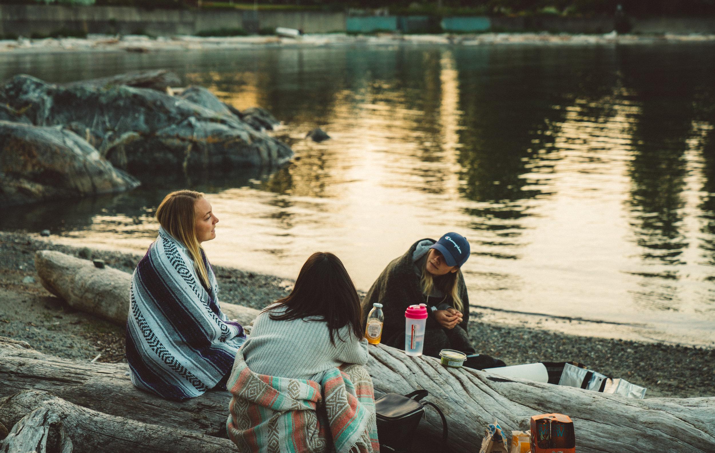 Danielle, Lindsay, and Rachel.