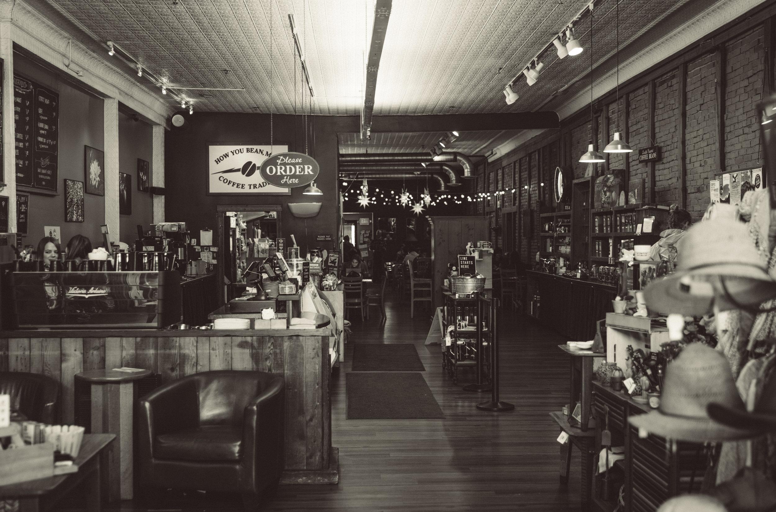 Montana Coffee Traders, Whitefish, MT.