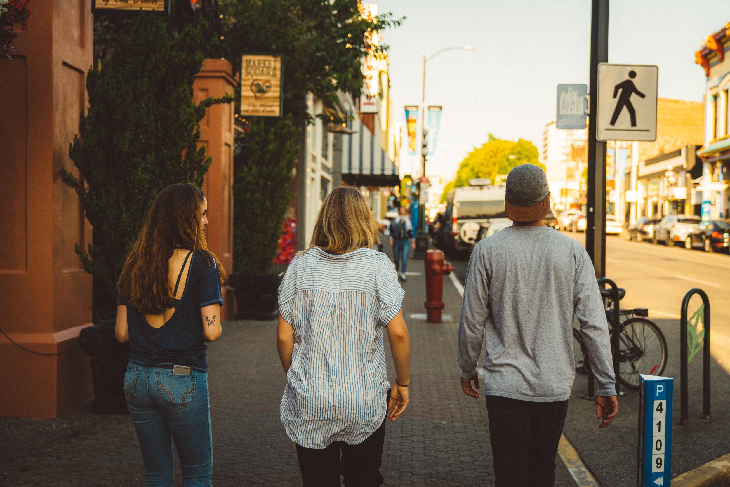 Annika, Danielle, and Niko.