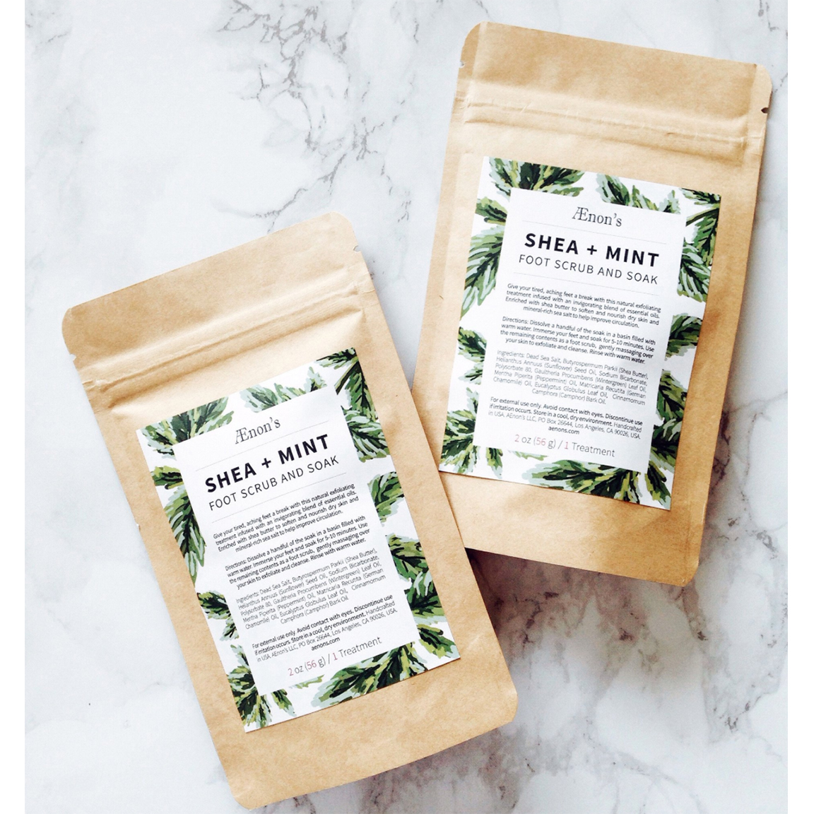 Copy of Shea + Mint Foot Scrub