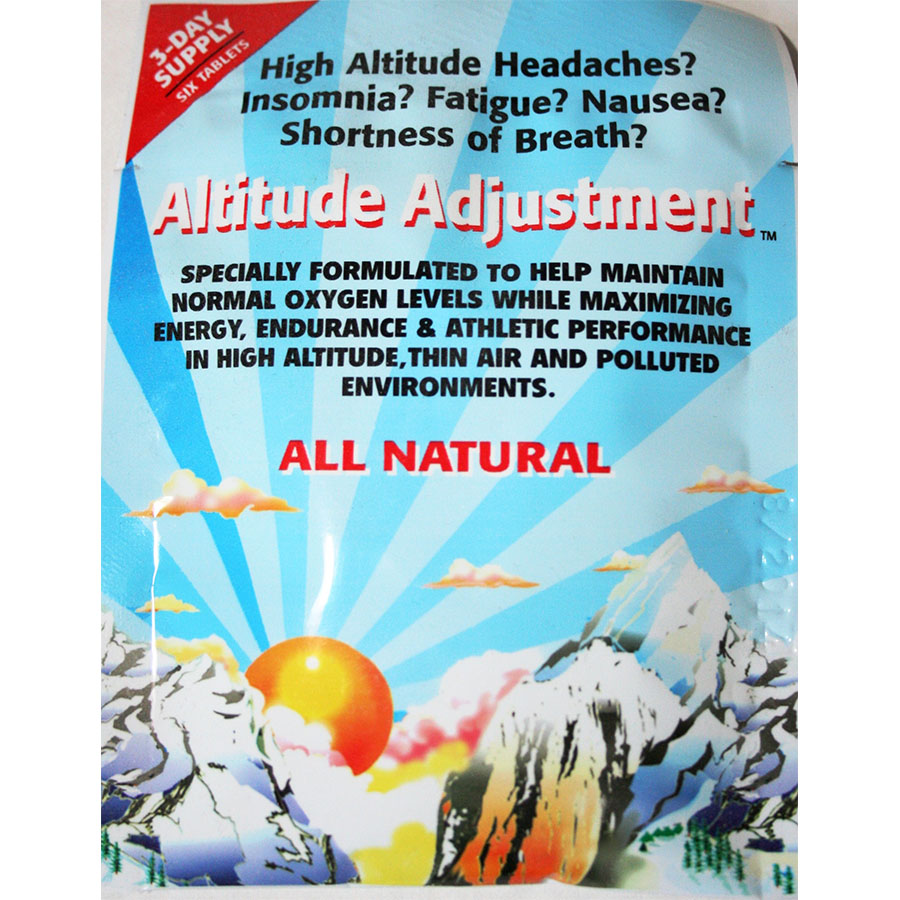 Copy of Altitude Adjustment