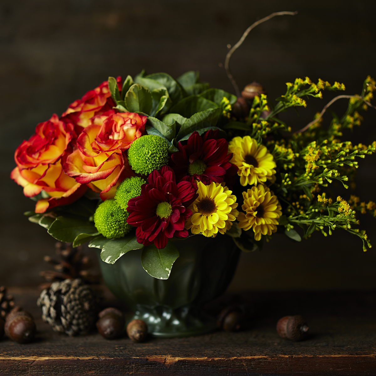 Autumnal Harvest | Thanksgiving table centrepiece
