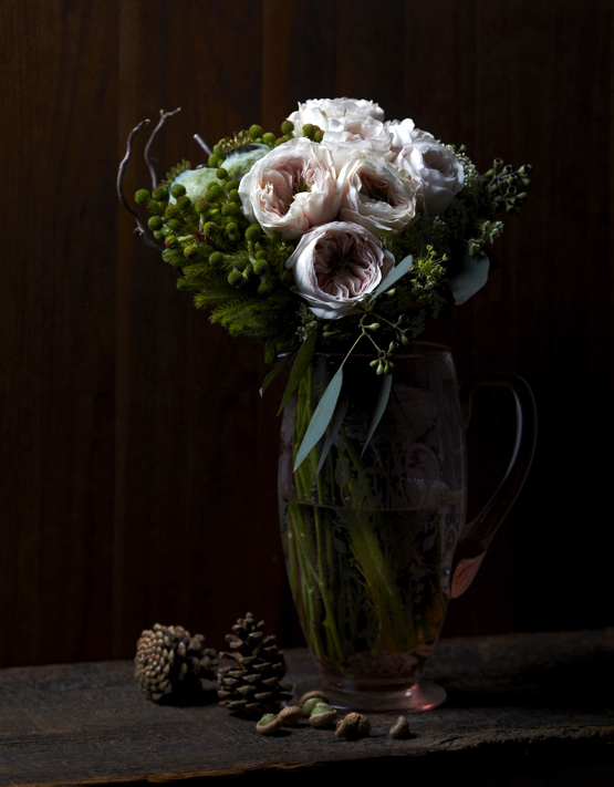 Painterly Inspiration | Rustic woodland bouquet