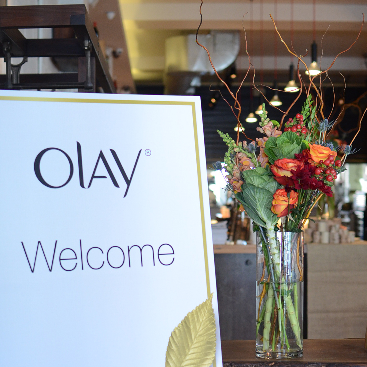 OLAY Canada product launch, October 2014. Styling: Daniel Onori/Plutino Group