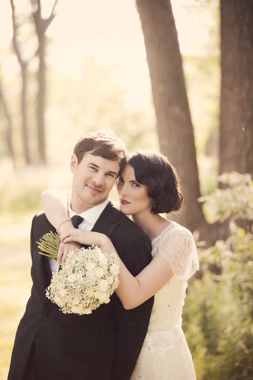 """A 1920's Themed Wedding in Toronto, Ontario.""   Weddingbells Blog,  April 2013. Photo: Naomi Studios"