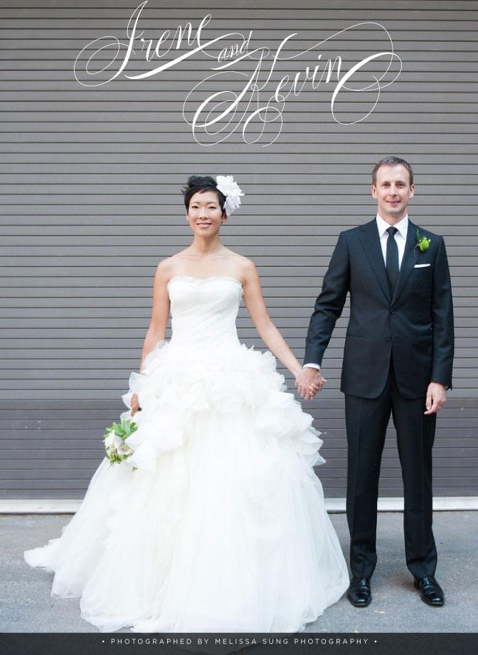 """True Love, True Luxury: Irene & Kevin.""   WedLuxe Magazine Blog,  November 30, 2012. Photo: Melissa Sung Photography"