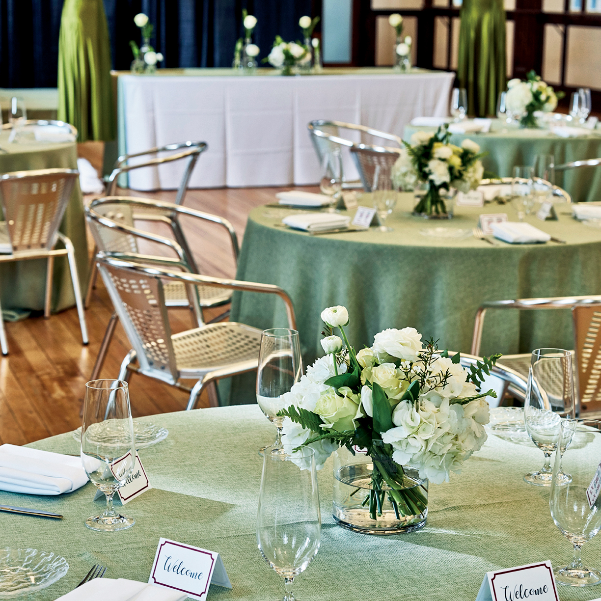 Garden party luncheon at Currie Hall, Canada's National Ballet School | Photo: Paul C