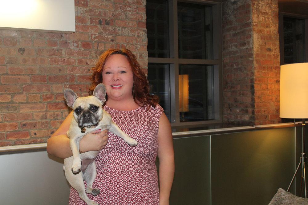 Amy Coady: @GantryGram and Sophie: @Sophie_Frenchie_NYC