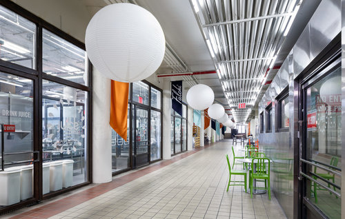Interior of the Falchi Building, at 31-00 47th Avenue in Long Island City