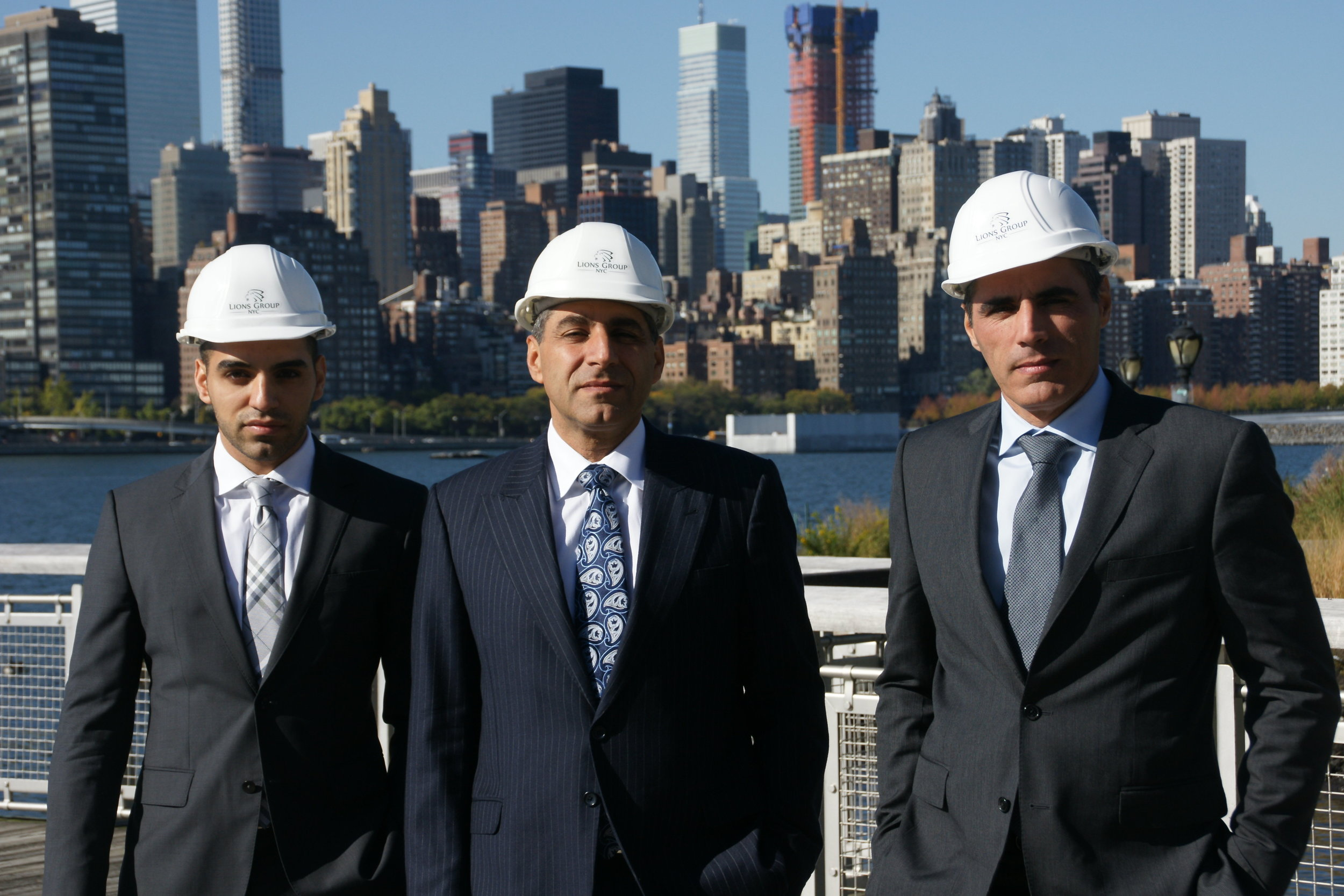 (From left) The Shirian family braintrust behind Lions Group