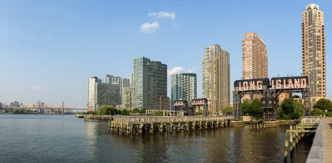 The Long Island City waterfront (credit: Streeteasy)