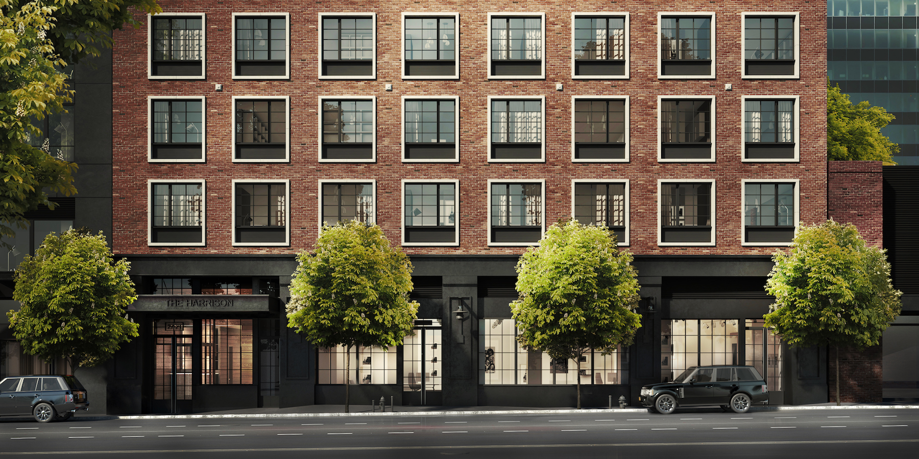 The Harrison, at 27-21 44th Drive in Long Island City (credit: Modern Spaces)