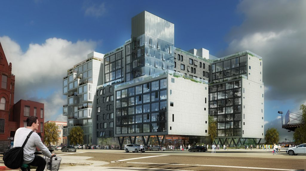 22-12 Jackson Avenue. Rendering Courtesy: A&D Engineering