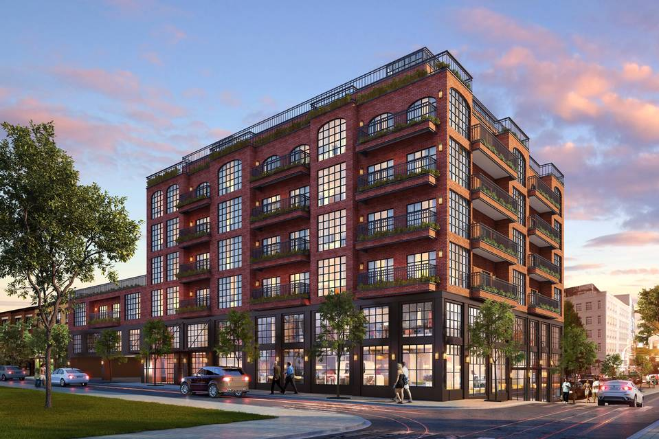 Rendering of The Smyth at 25-16 37th Avenue. Image: Shanghai Homely Cultural Transmission Co., Ltd.