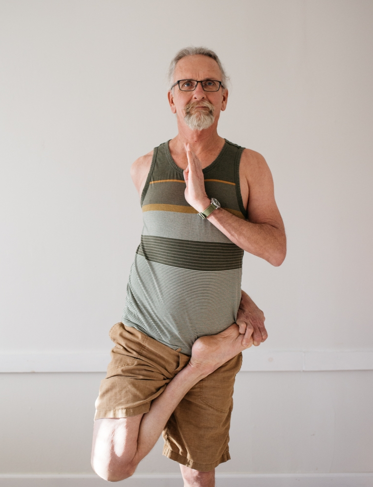 Peter Kercheval  Yoga found me in 2006 and it started to open up something in me that has blessed me more than I am able to put in words. 6 years ago came Ashtanga and the deepening of the breath, it's an amazing experience that I'm honored to share.