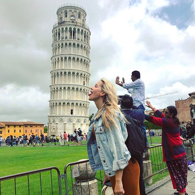 Good Morning from #Pisa 😛