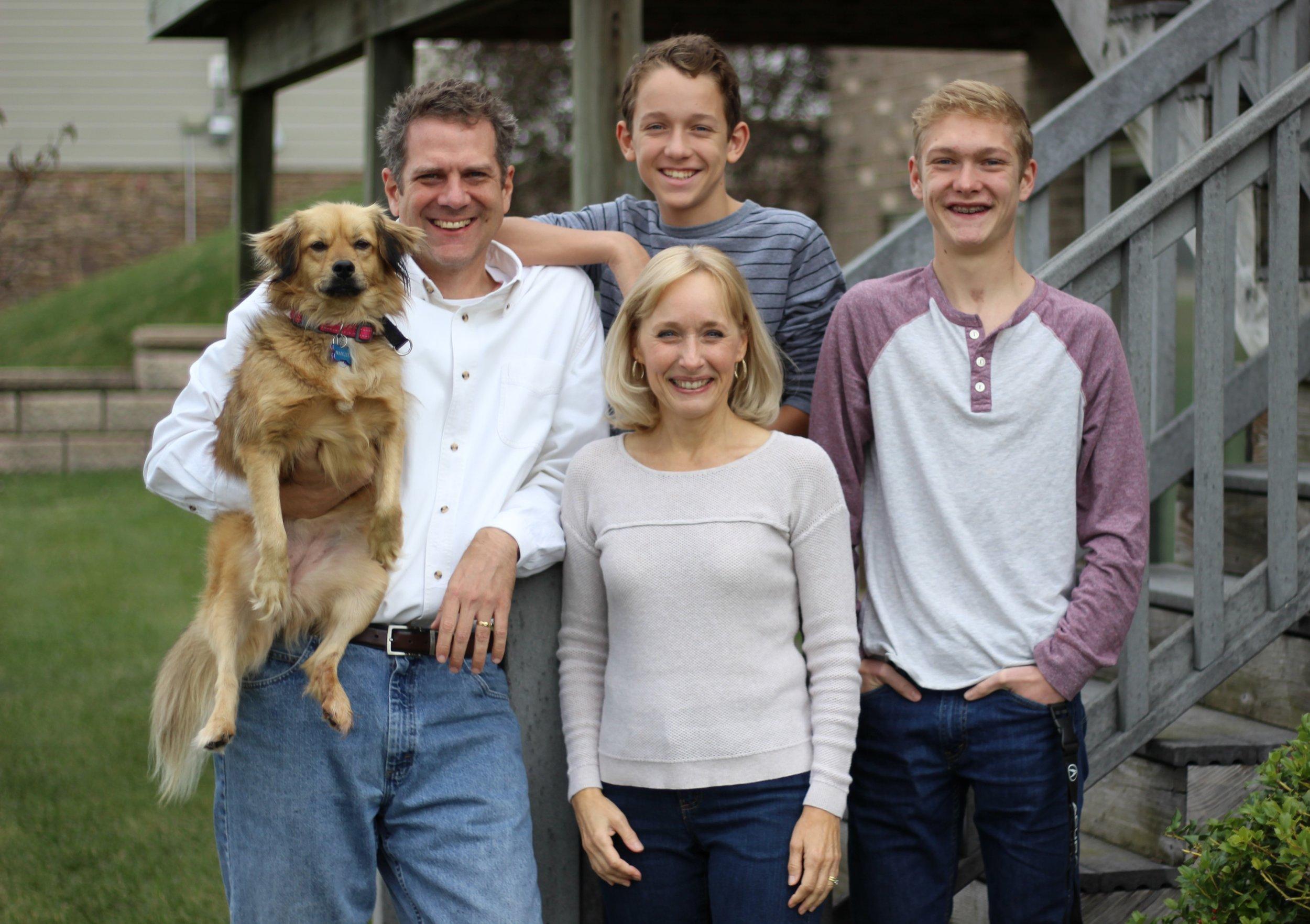 Jim & Lisa Smith & Family