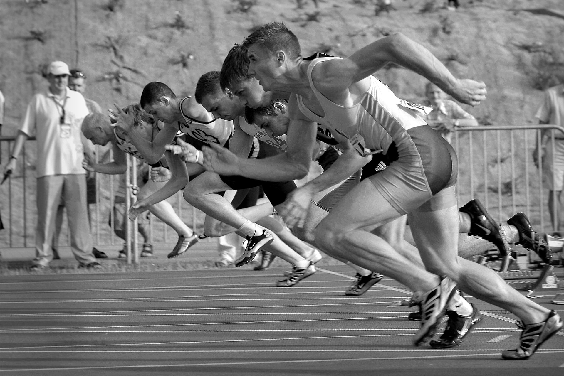 Though many may start a race...  Few have the fortitude to win it!