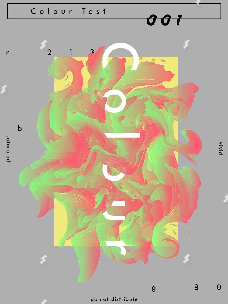 Colour Test 1 - Graphic - Ryan Sandvik