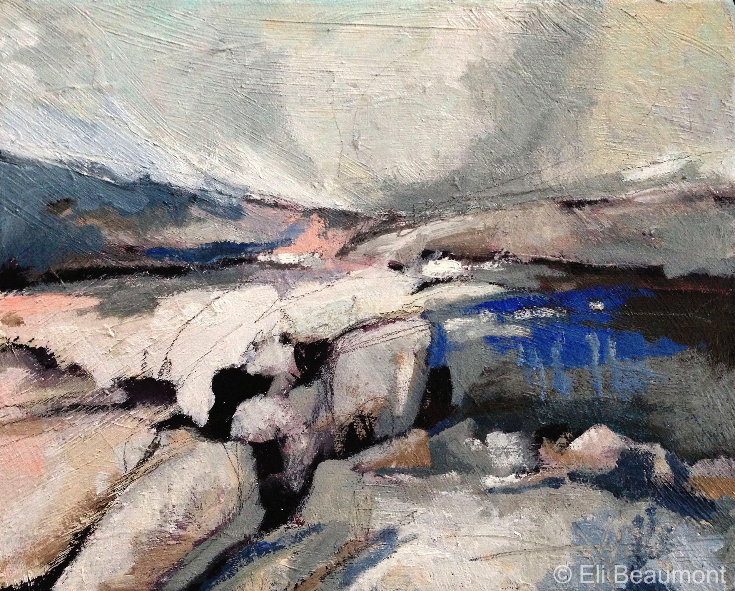 St Ives 2 - acrylic on canvas  25x20cm