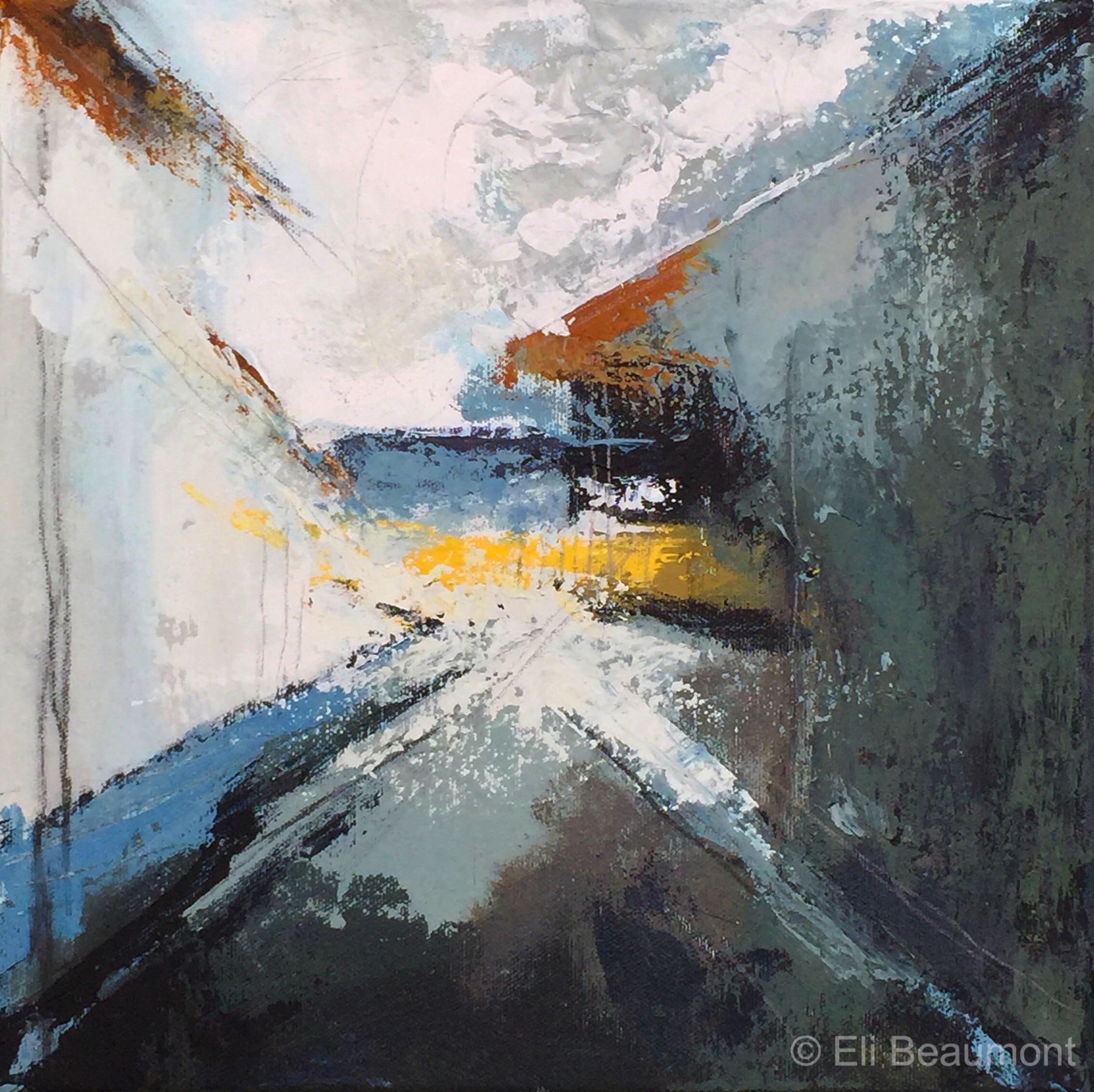 Tuesday, 5pm - acrylic on canvas  29x29cm