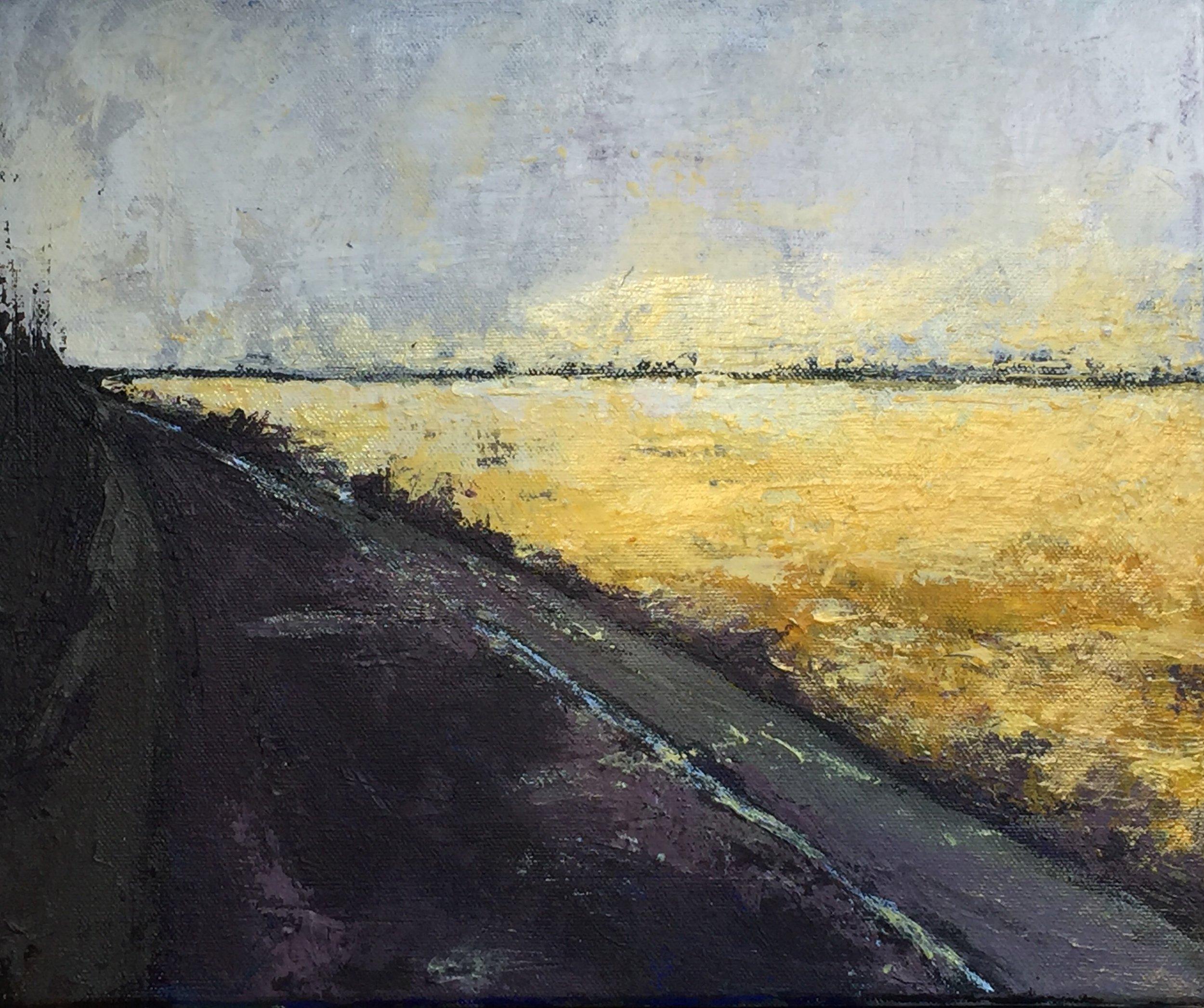 Darsham: Friday Special  -  acrylic on canvas  30x25cm