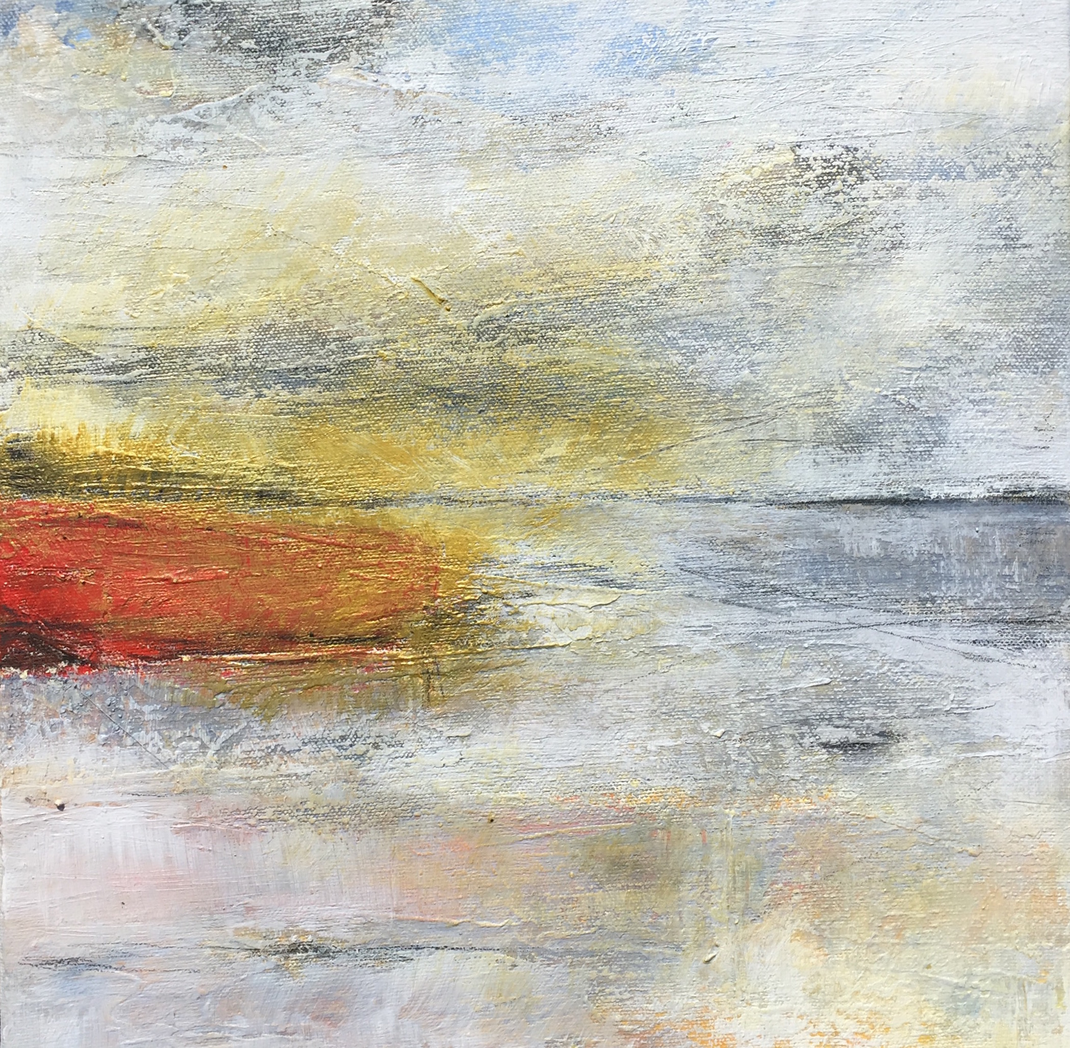 Dunwich - acrylic on canvas  30x30cm