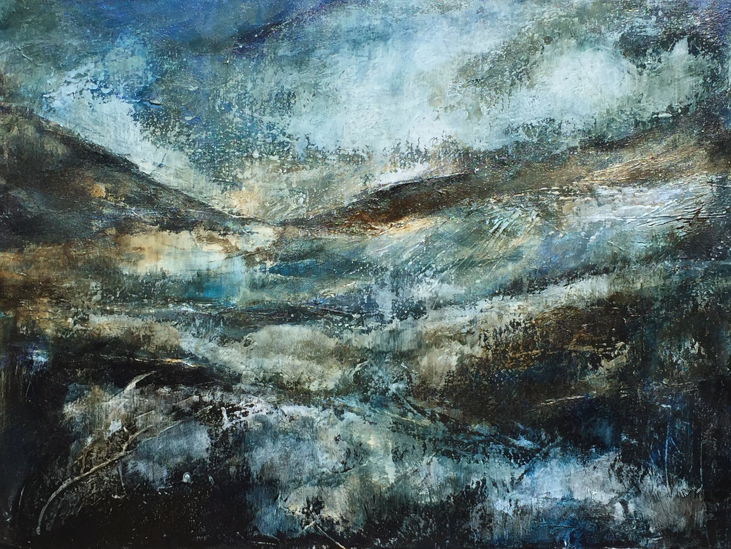 Darsham  -  acrylic on canvas  60x45cm