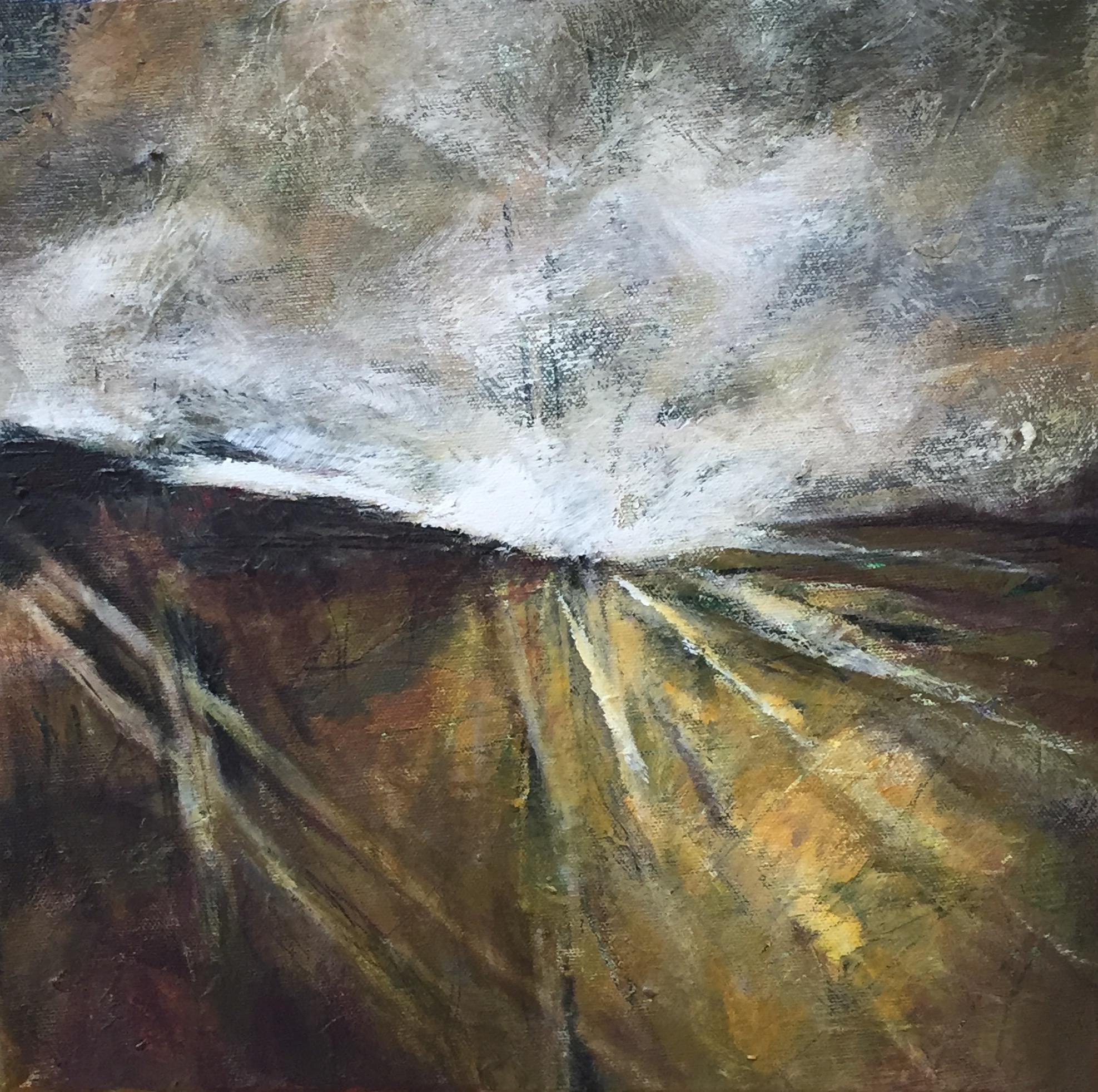 Mole Valley - acrylic on canvas  30x30cm £100