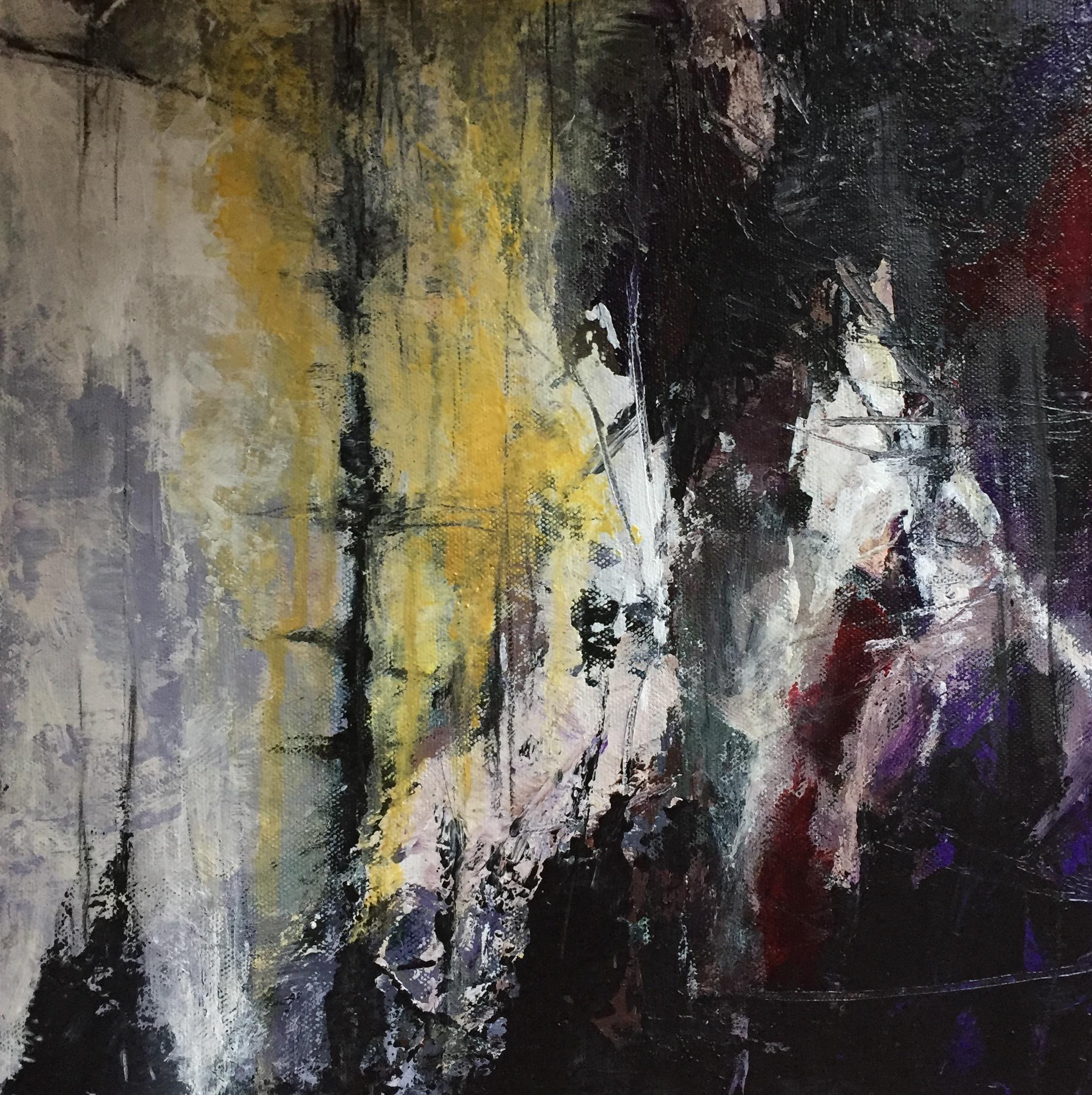 Journey - acrylic on canvas board  30x30cm