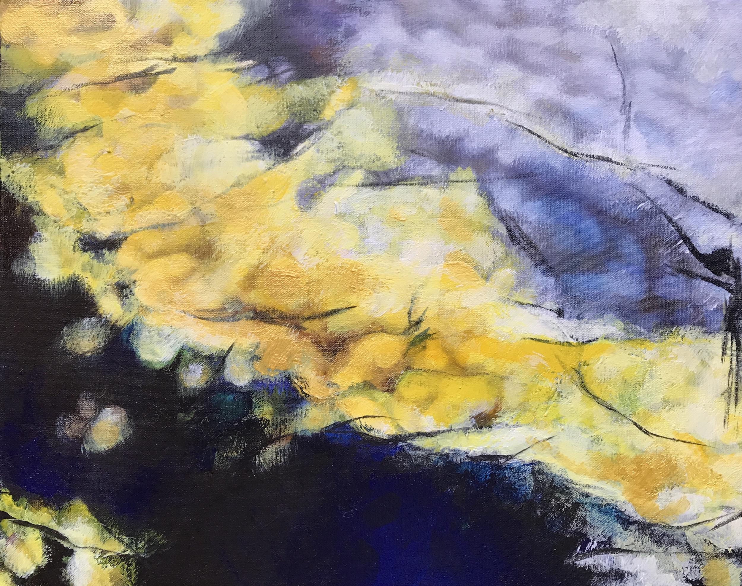 First Breath - acrylic on canvas  30x24cm £90