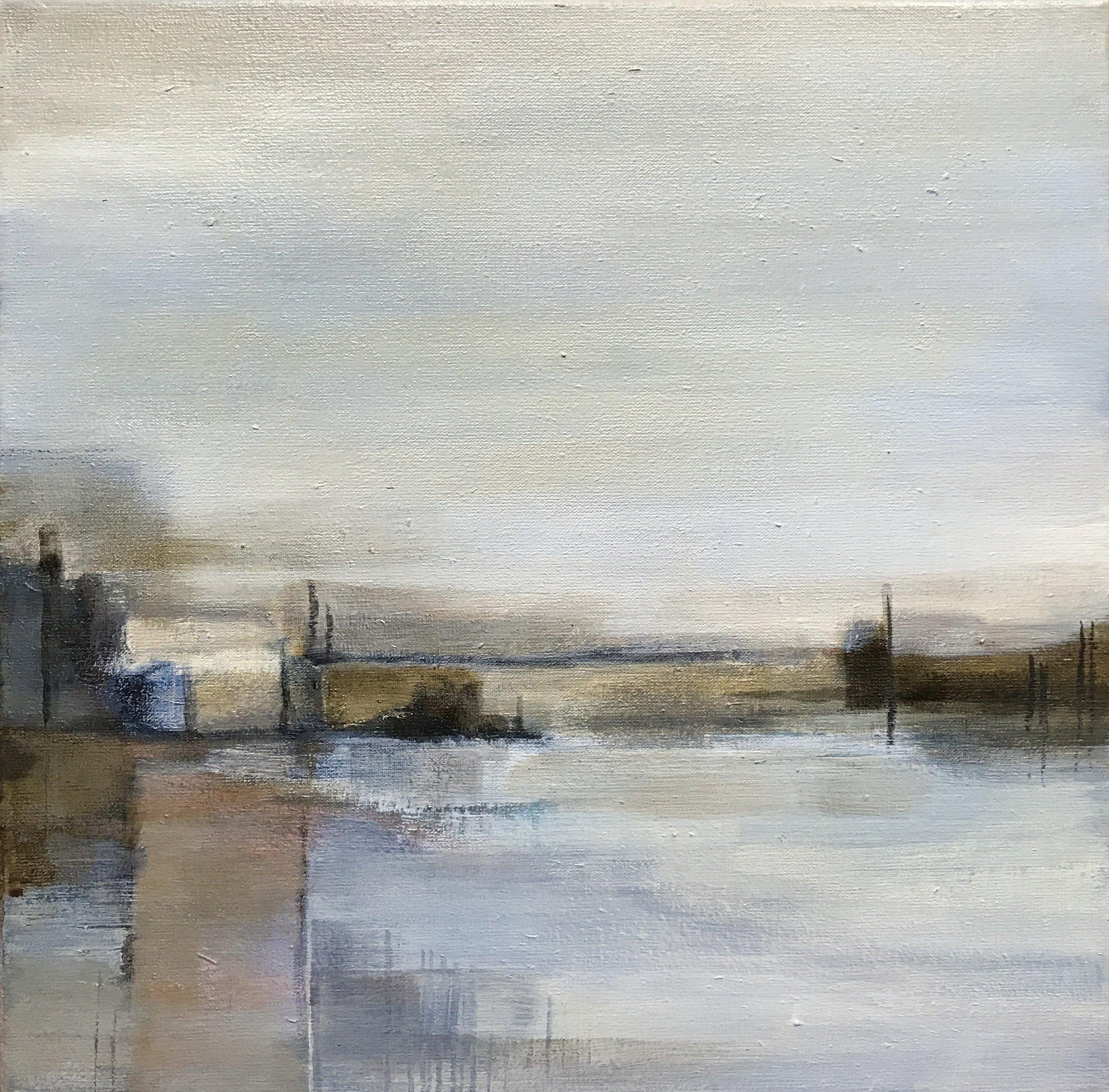 Thursday - acrylic on canvas  30x30cm
