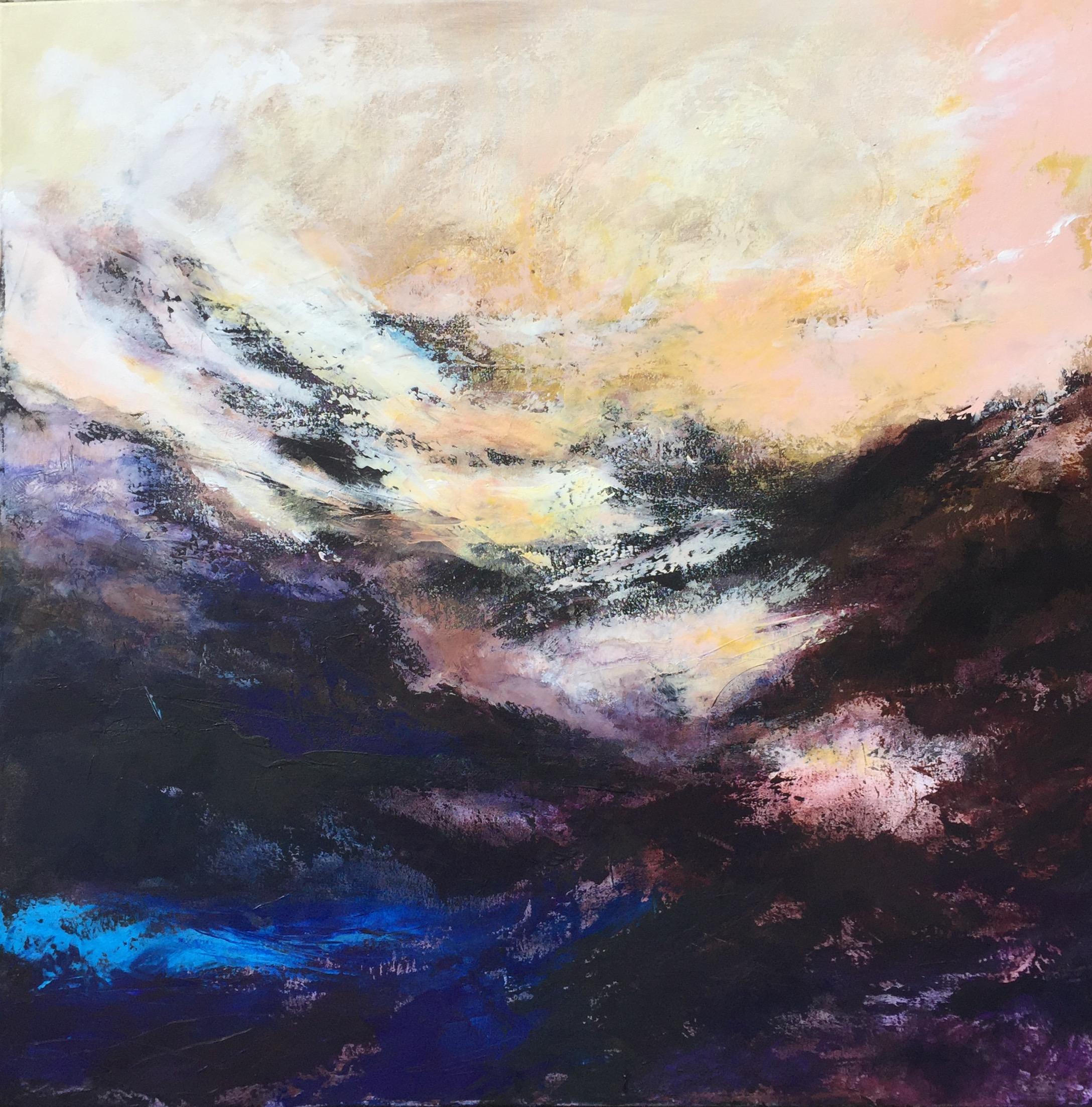 Home - acrylic on canvas  100x100cm