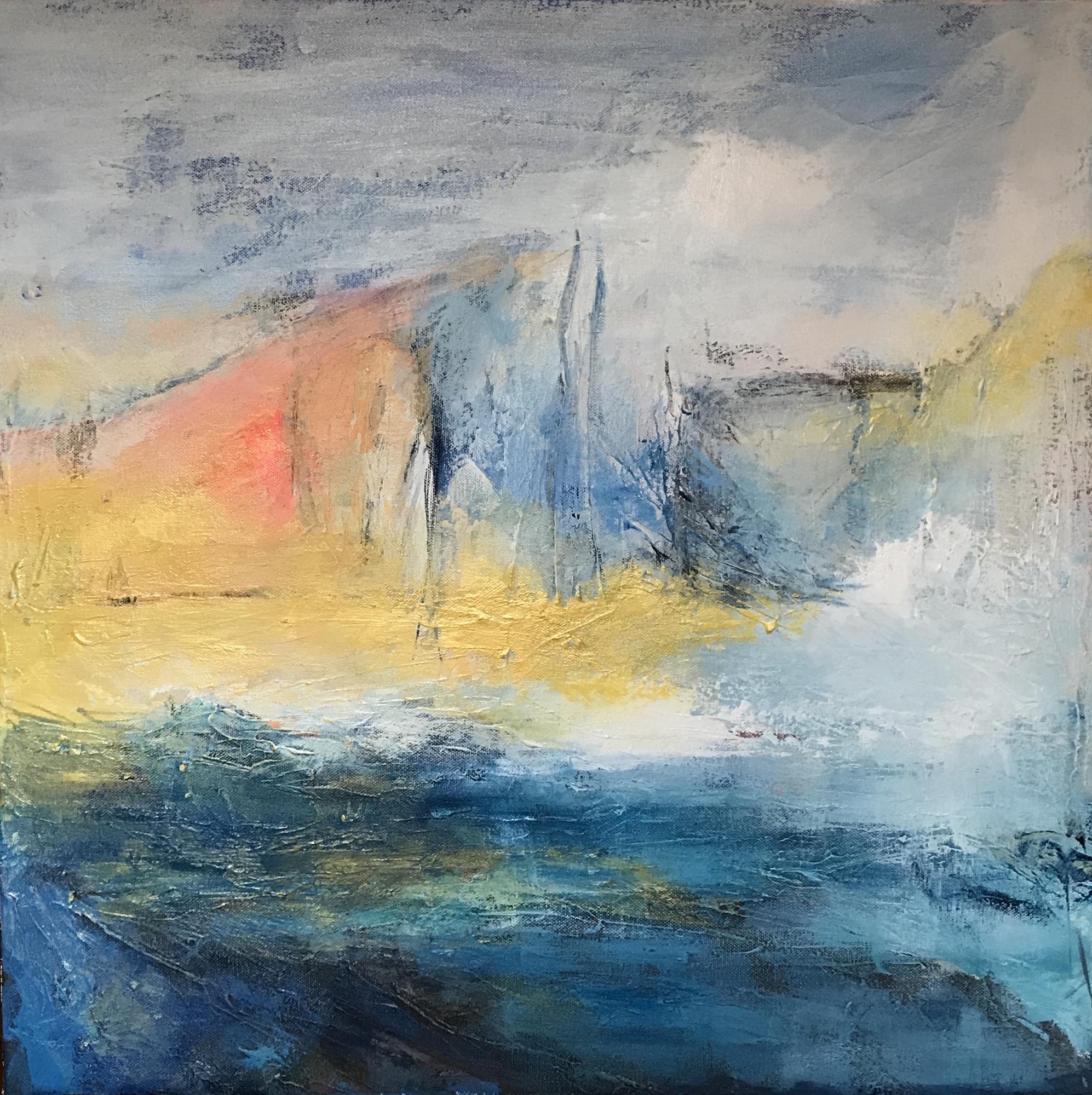 After Venice - acrylic on canvas 50x50cm  £325