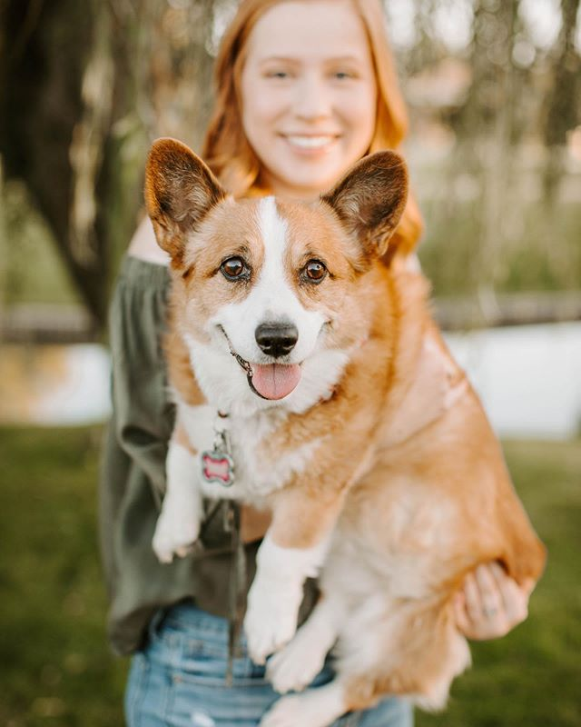To all my Seniors: YES you can bring your dog to your session. In fact, PLEASE bring your dog to your session I would greatly appreciate it. 😁 One of my favorite parts about senior sessions is meeting my seniors of course, but also seeing all of the love that radiates from the people the seniors bring along with them. Kayla had a group of 8 cheering her on, 9 if you include her fur baby!  And who wouldn't want this sweet girl cheering them on? 🐶  I had such a blast meeting Kayla last Saturday. She is incredibly sweet, and her family is totally awesome. I can't wait to see all that you accomplish sweet girl! You make senior year look fabulous! 🎉✨